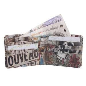 Bags ETC - Printed Interior Wallet £5.99 with code