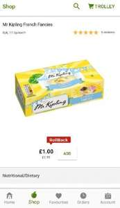 Mr Kipling French fancies £1 asda