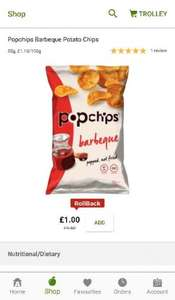 bbq popchips £1 asda