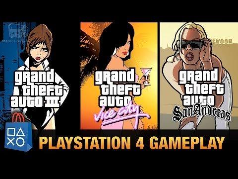 GTA Trilogy - GTA3, VICE CITY & SAN ANDREAS £11.60 @ PSN