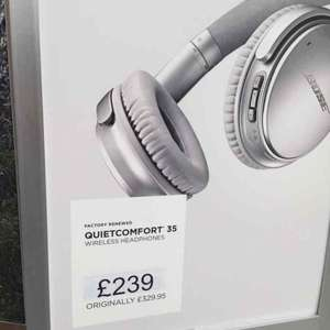 bose qc35 £239 @ Bose outlet SWINDON