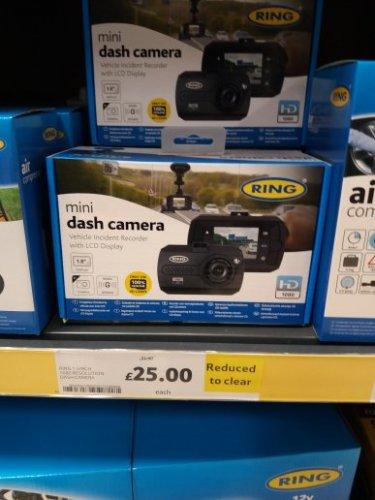 Mini HD Dash Cam in-store £25 @ Lichfeild Tesco