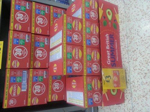 Walkers Crisps 30 box £3 @ Morrisons