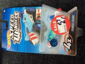 Hot Wheels speed winders at Asda only £1 each