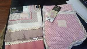 3 tea towels and double oven glove £1.25 each @ ASDA