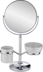 Danielle Creations Dual Sided Magnifying Pedestal Mirror - White £7.99 delivered @ Argos / Ebay