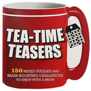 Tea Time Teasers - was £5.99 now £0.80 with code + Quidco 17% cashback @ Theworks (C&C)