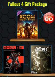 [PC] Fallout 4, Evolve (plus DLC) and XCOM Enemy Within (DLC) £7.90 @ Scdkey