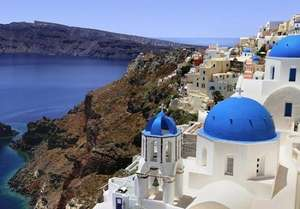Santorini Return Tickets during October school holidays £125 per person @ Easyjet