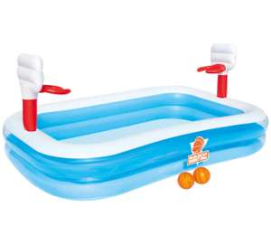 Bestway Basketball Play paddling pool was £30 now £20 free next day click & collect too @ Tesco Direct