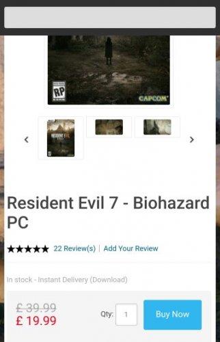 Resident Evil 7 - Biohazard CD Key, Key - cdkeys.com