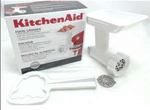 KitchenAid 5FGA Food Grinder for Stand Mixers (76.50 in Lakeland.) £25.05 Amazon