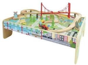 Carousel Train Table Set £21.99 @ Tesco Direct + More