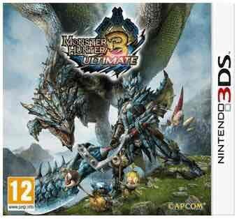 Monster hunter 3 ultimate (3DS) £9.99 used @ Grainger games