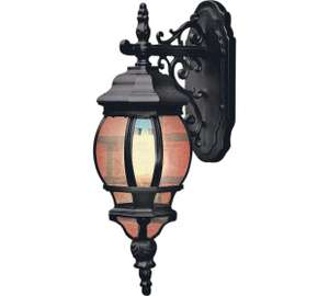 HOME Pumpkin Style Lantern - Black Half Price now £12.49 C+C @ Argos