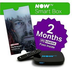 now tv smart box and two months movies. - £25 @ ASDA