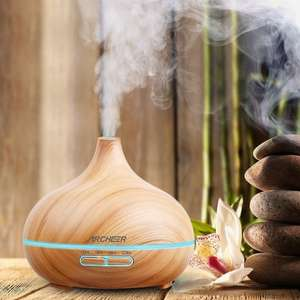 Essential Oil Diffuser Cool Mist Humidifier just £9.99 prime / £14.74 non prime over 50% off Sold by SumbayEU and Fulfilled by Amazon
