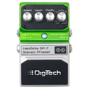 DigiTech Hardwire SP-7 Stereo Phaser guitar pedal £48.98 @ Gear4Music