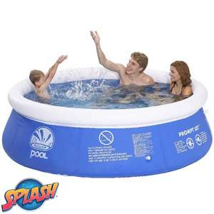 Summer Fun Prompt Set 8ft Inflatable Pool £19.99 (Free C+C, otherwise £3.49 Del) @ Home Bargains