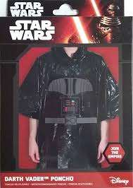 Star Wars Darth Vader rain poncho £0.99 @ Clintons - craigavon