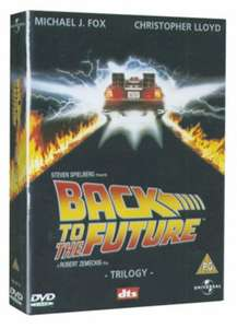 Back to the Future Trilogy (Used) - £1.99 @ Music Magpie PLUS CHOOSE ANOTHER FREE DVD, ALL FOR £1.99 & FREE DELIVERY