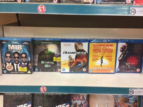 Blu Ray Titles £1 e.g MIB 3 - Sunshine on Leith - Most violent year  @ Poundland