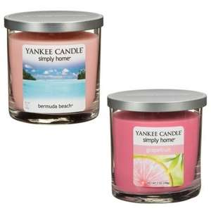 Yankee candles simply home - £4.99 @ B&M