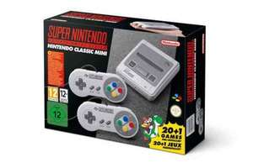 Mini Super Nintendo SNES at Smyths preorder for £69.99