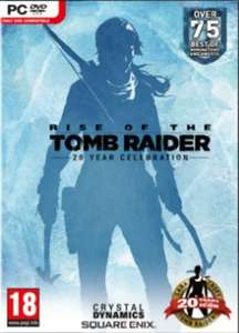 Rise of the Tomb Raider 20 Year Celebration Edition PC (Steam) £12.34 from CDKeys