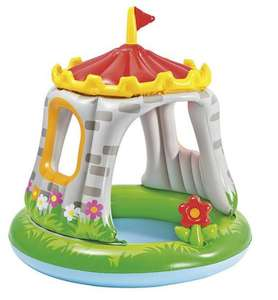 Royal castle baby paddling pool with shade cover was £15 now £12 with free click & collect @ Tesco Direct