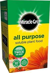 Miracle-Gro All Purpose Soluble Plant Food Carton, 1 kg - a mere bagatelle £3 @ Amazon (add on item)