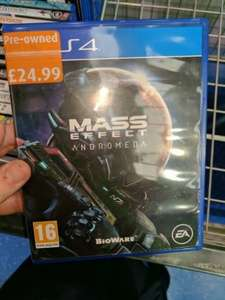 Mass Effect Andromeda (Pre-owned) Down to £24.99 at Smyth's