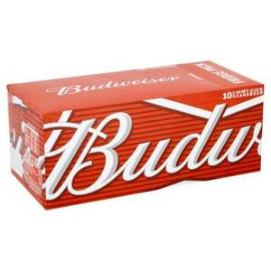 Budweiser Cans, Delivered Chilled 30 x 440ml - Morrisons - £21.00