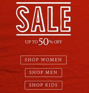 Fatface up to 50% sale!