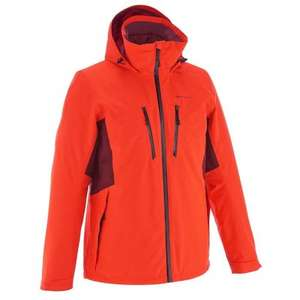 QUECHUA RainWarm 500 3-in-1 Men's Hiking Jacket - Red - (Was £79.99) Now £19.99 (plus £3.99 del) @ Decathlon