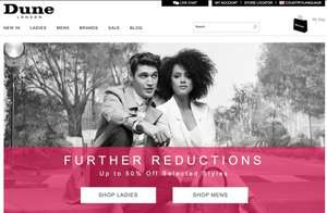 Dune London - FURTHER REDUCTIONS Up to 50% Off
