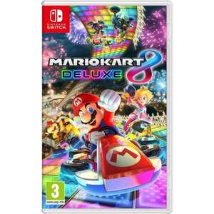 Mario Kart 8 Deluxe Nintendo Switch £37.79 @ 365Games with code 10OFF