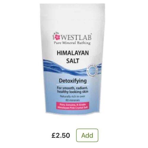 Westlab Bath Salts (3 varieties) £2.50 at Asda plus 3 for 2.