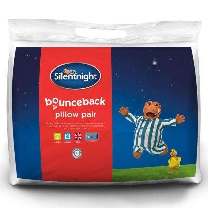 Silentnight Bounceback Pillow Pair £1.00 was £7.99 @ B & M Stores