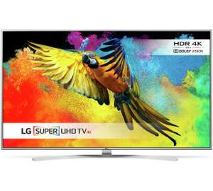 LG 49UH770V 49 Inch SMART 4K Super Ultra HD TV with HDR - £569.00 from Argos (£512.10 with code)