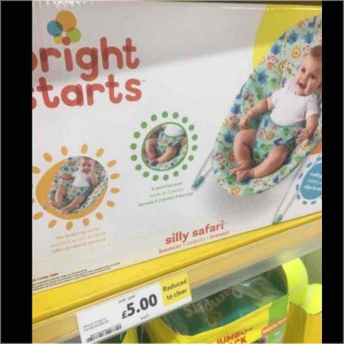 Tesco - bright stars baby bouncer £5 instore (Mickleover, Derby)