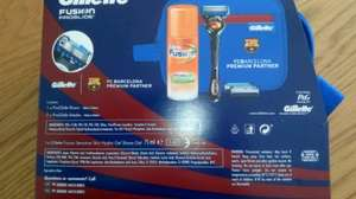 Gillette Fusion ProGlide FC Barcelona gift pack. £5.00. Asda - Southport