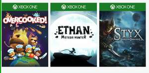 This weeks deals with gold and spotlight sale - overcooked - Ethan meteor hunter and Styx shards of darkness