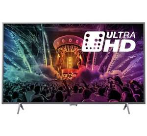 Philips 55PUS6401 55 Inch SMART 4K Ultra HD TV with HDR £449 @ Argos
