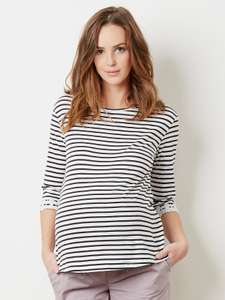 Upto 60% off maternity, kidswear, baby clothes, shoes and interiors eg striped maternity t-shirt was £15 now £6 @ Verbaudet