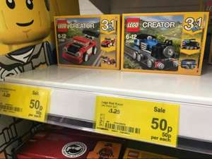 LEGO Creator 3in1 in Asda Oldham down to 50p from £1.25