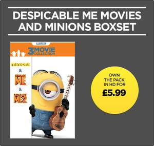 Despicable Me & Minions pack in HD £5.99 @ Wuaki (Banana bwhahaha)