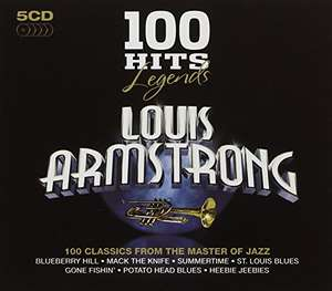 100 Hits Legends - Louis Armstrong Box set 5 cd's £6.99 prime / £8.98 non prime @ amazon