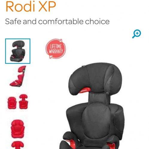 maxi cosi rodi xp car seat mothercare sale preview £50