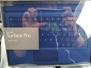 Surface pro 3 (and none pro) keyboards £10 from Office outlet Derby